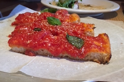 Polpettina in Eastchester Grandma pizza pie Westchester county, New York.