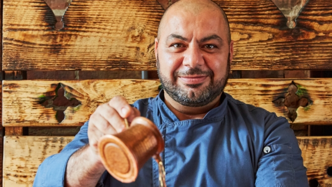 Kamel Jamal is the owner of five lower Hudson Valley restaurants and contributes the community to here and abroad in Palestine.