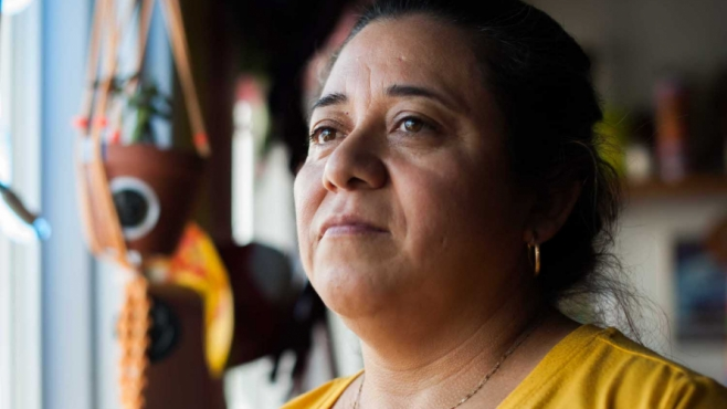Maria Romero is an El Salvadoran immigrant who inspired and aided in Carla Perez-Gallardo and Hannah Black opening Lil Deb's Oasis in Hudson.