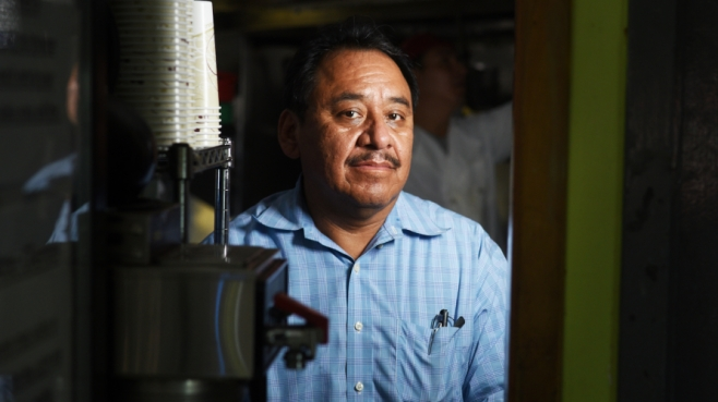 Mexican immigrant, Alfonso Alvarez, is the owner of Tacos El Poblano, Pollo Poblano, and Dos Marias in Yonkers, New York.
