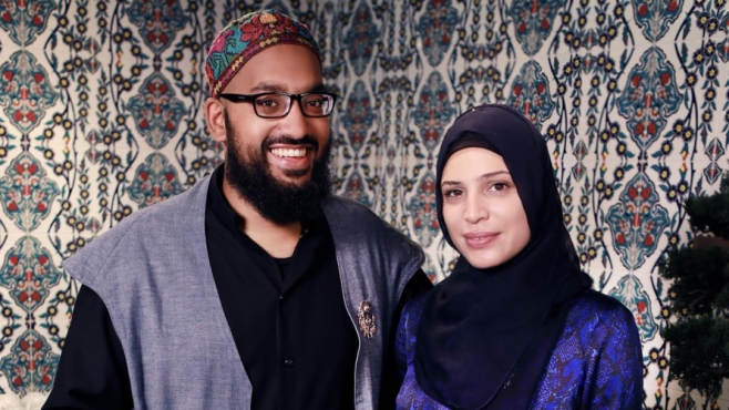 Hasan Siddiqi and Nour Abouhaib own The Tulip and The Rose Café in Franklin, New York and bring camaraderie in their community.